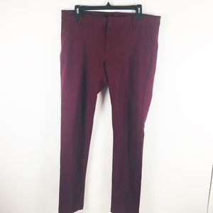Kut From The Kloth Trouser Skinny Pants Sz 12